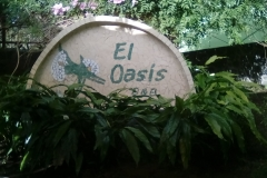 Entrance at El Oasis