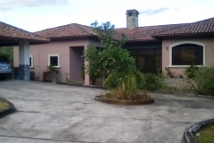 American style house in Los Molinos, another gated community near Boquete