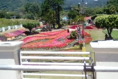 The fairgrounds in Boquete, just after the annual Flower and Coffee Fair
