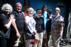 Some members of our tour group had lunch with some expats who live in Boquete
